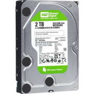 HDD 3.5P WD GREEN 2TB INTELLISEEK 64MB