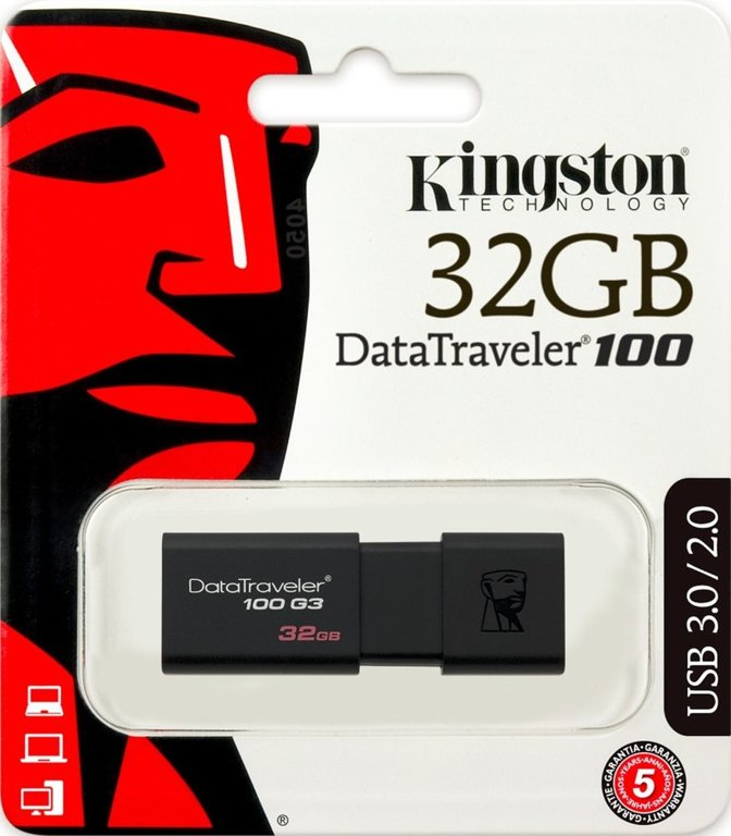 Pen Kingston 32GB USB 3.0