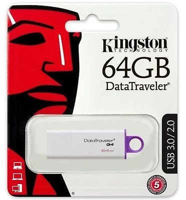 Pen Kingston 64GB USB 3.0