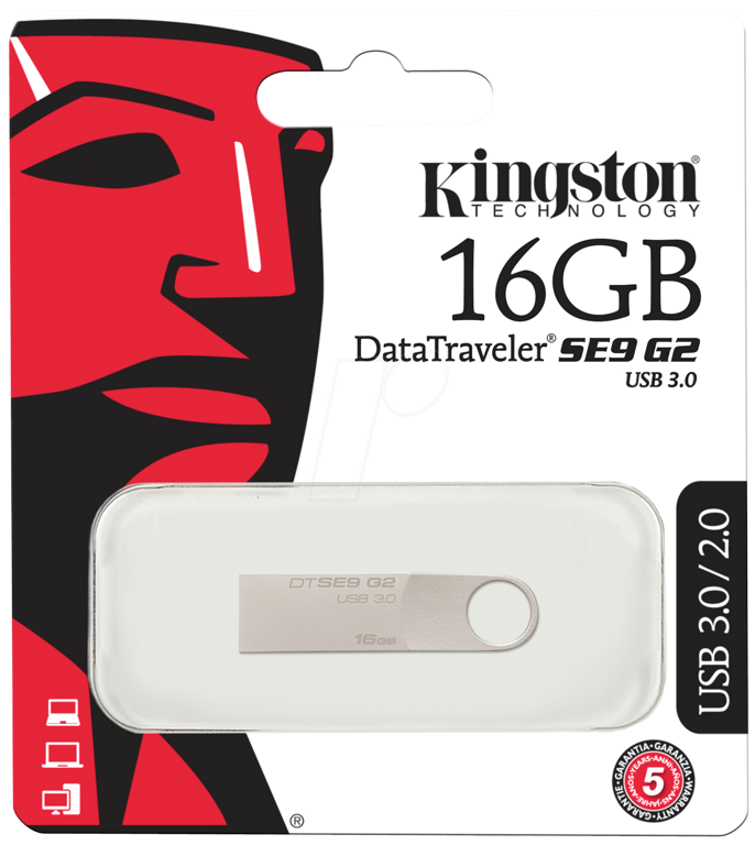 Pen Kingston 16GB USB 3.0