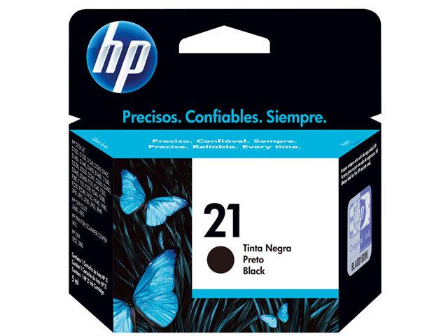 Tinteiro HP 21 Preto