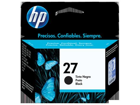 Tinteiro HP 27 Preto