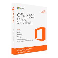 Microsoft Office 365 Pessoal PT 1 Ano