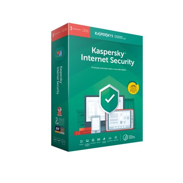 KASPERSKY - Internet Security Multi-Device 2019 3 Utilizadores Renov PT