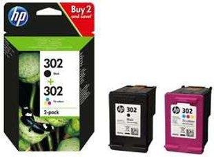 Pack Tinteiros HP 302
