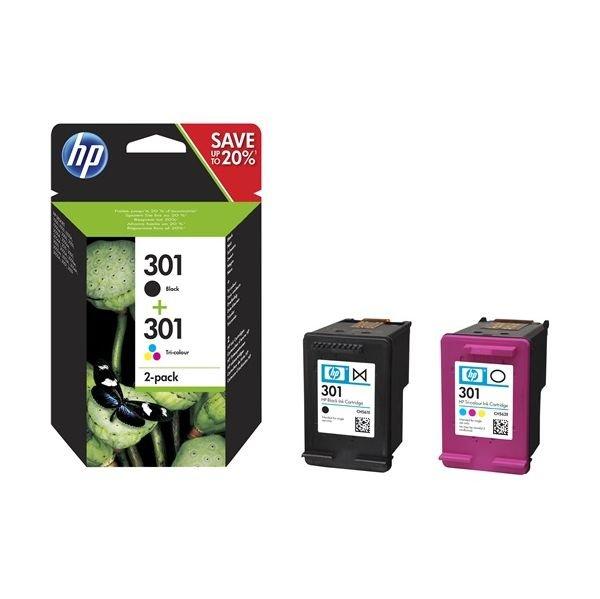 Pack Tinteiros HP 301