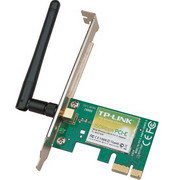 PLACA PCIE WIRELESS TP-LINK 150MBPS
